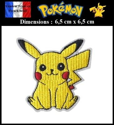 Écusson Brodé Thermocollant NEUF ( Patch Embroidered ) - Pokémon Pikachu