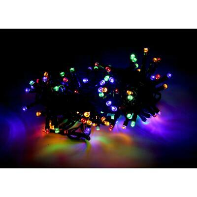 Guirlande LED Multicolore 220V 5M IP44 100 LED (+transfo) -