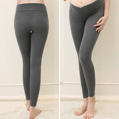 New Maternity Pant Leggings Pregnant Women Thin Cotton Pants High Waist Modal