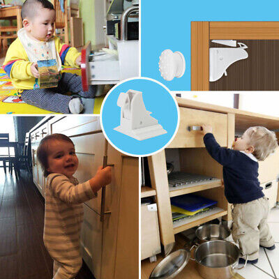 Baby Lock Magnetic Safe Invisible Security Cupboard Door Child Pet Proof Drawer