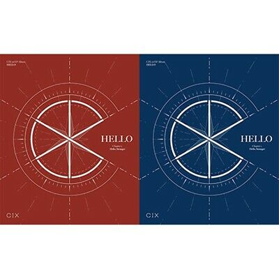 CIX 1st EP Album [Chapter 1. Hello, Stranger] CD+Photobook+4p Card+Folded Poster