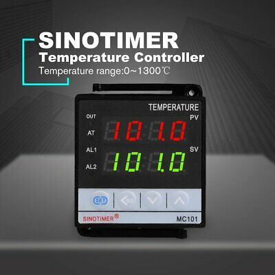 SINOTIMER Thermostat Thermometer SSR Relay Output PID Temperature Controller DV
