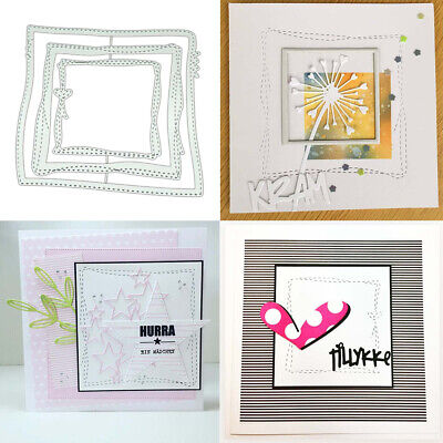 Irregular Box DIY Metal Cutting Dies Stencil Scrapbooking Album embossage Paper