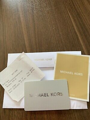 £79.20 BRAND NEW GIFT CARD Micheal Kors Giftcard Free Postage Expires 16/3/20