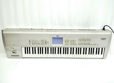 Korg Triton Studio 76 Key Synthesizer In Very Good Condition From JAPAN