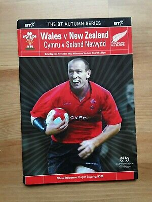 RUGBY UNION - WALES v NEW ZEALAND AUTUMN INTERNATIONAL 2002