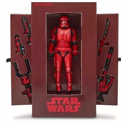 NEW IN HAND Hasbro Star Wars Black Series Red SITH TROOPER 2019 SDCC Exclusive