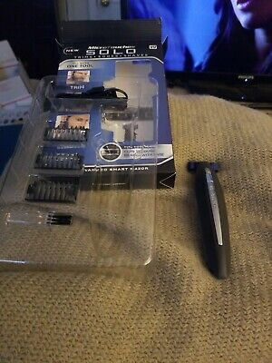 MicroTouch Micro.Touch SOLO Rechargeable Trims Edges Razor Shaver-As Seen On TV