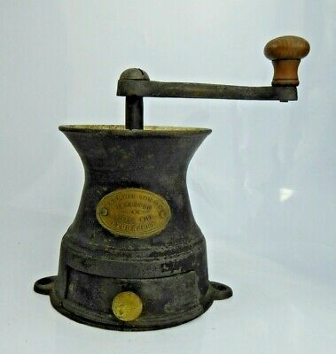 a Rare Antique Coffee Grinder Baldwin Improved Mill No 10 c19th Superb Stourport