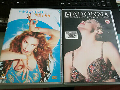 MADONNA 2 DVD : The Video Collection 93:99 + The Girlie show - Live down under