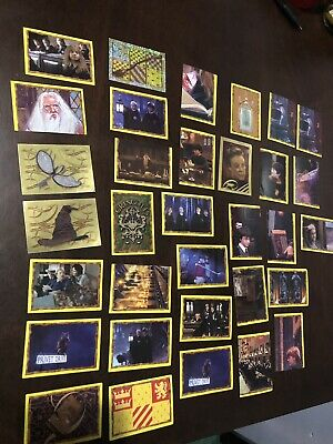 33 Assorted Harry Potter Stickers HP And The Philosophers Stone Collectable 2001