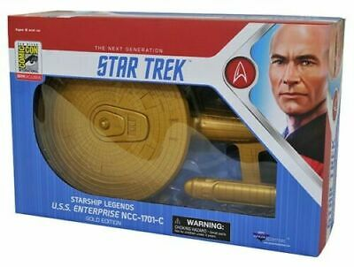 SDCC 2019 Diamond Select STAR TREK STARSHIP GOLD San Diego EXCLUSIVE IN HAND
