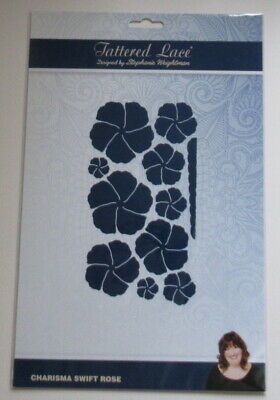 Tattered Lace Charisma Swift Rose Die Set - New.