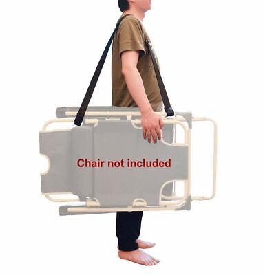 2 Pack WINGKIND Adjustable Beach Chair Carry Strap Folding Chair Shoulder Str...
