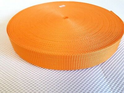 50m roll 38mm polypropylene webbing strap excellent quality clearance=)}