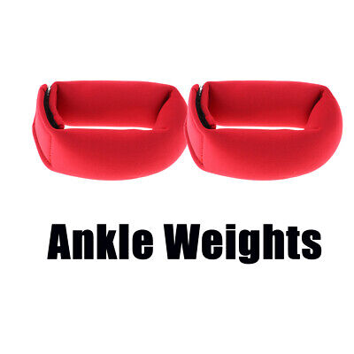 2Pcs 0.5lb Ankle Weights Running Ankle Leg Weight Strap Gym