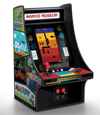 New My Arcade Namco Museum Mini Player Arcade Machine Built in 20 Video Game