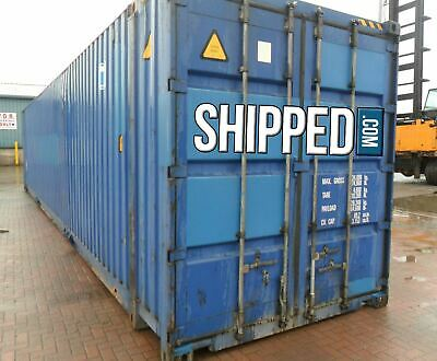 HUGE 45ft HIGH CUBE *CERTIFIED CARGO WORTHY / SEA WORTHY* SHIPPING CONTAINER
