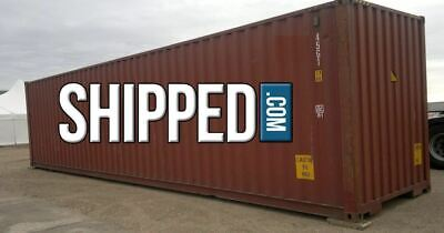BEST OFFER! USED 40FT HIGH CUBE SHIPPING CONTAINER for HOME STORAGE in TENNESSEE