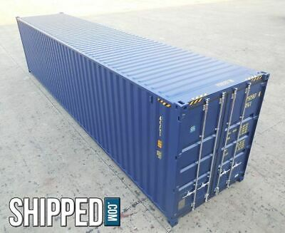 Avail Now We Deliver New 40' High Cube Intermodal Shipping Container Atlanta, Ga