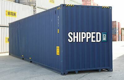 HOT DEAL!!! NEW 40 FT HIGH CUBE SHIPPING Container  We DELIVER in BALTIMORE, MD!