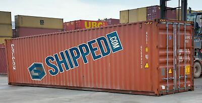 Used 40 Ft High Cube Shipping Containers Home Business Storage Las Vegas, Nevada