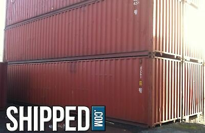 Ann Arbor Shipping Containers - 40Ft Used - Lowest Price In Michigan