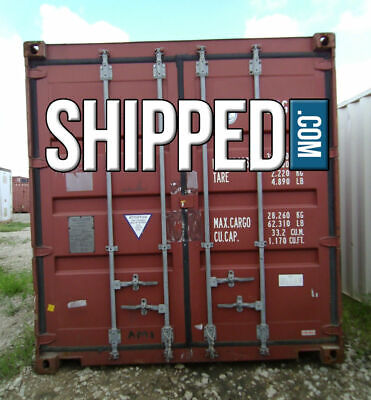 USED SHIPPING CONTAINER 40 FT HIGH CUBE SECURE HOME STORAGE in HOUSTON, TEXAS