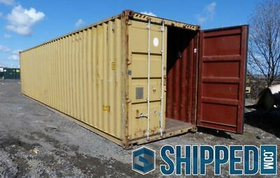 DEAL! USED 40FT HIGHCUBE SHIPPING CONTAINER for HOME STORAGE  in CLEVELAND, OHIO