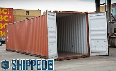USED 40 FT HIGH CUBE SHIPPING CONTAINERS for HOME BUSINESS STORAGE CHARLOTTE, NC