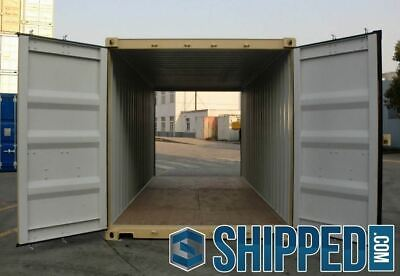 20ft NEW DOUBLE DOORS SHIPPING CONTAINER ~ WE DELIVER ~ in SEBRING, FLORIDA