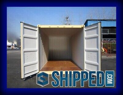 FIRST SALE!! NEW 20FT CONTAINER / STORAGE UNIT FOR SALE in RUTLAND, VT