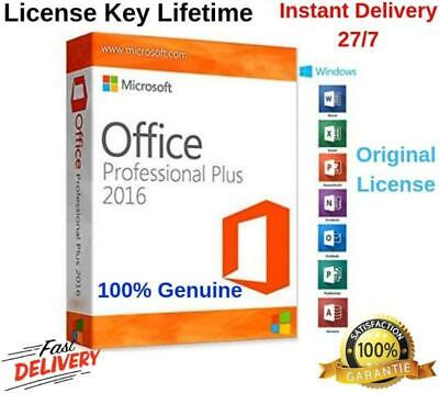 🔥 microsoft 2016 🔥 professional plus office key🗝 32/64 bit⚡️ fast delivery ✅
