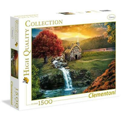 CLEMENTONI 31683 - Puzzle Mirage - 1500 pezzi - High Quality Collection