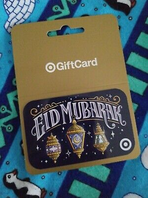 Target Eid Mubarak gift card 🚫NO🚫VALUE🚫