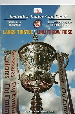 09/10 Largs Thistle V Linlithgow Rose (Scottish Junior Cup Final)