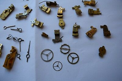 antique carriage  clock escapement platforms parts10