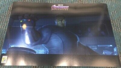 SDCC 2019 AVENGERS Endgame COMIC CON Exclusive Nano Gauntlet HULK Poster NEW