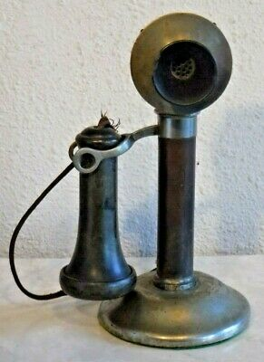 Stromberg Carlson Antique Candlestick Project Telephone with Original Receiver