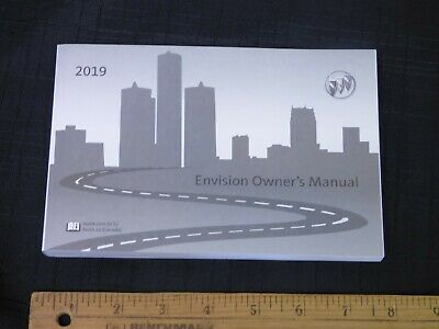 2019 Buick ENVISION Car Owners Instruction Manual Glove Box OEM GM NEW