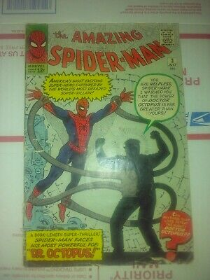 Amazing Spider Man #3 July 1963 Marvel 1st Appearance of Dr. Octopus - Ditko