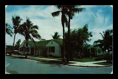 Us Postcard The Roderwald Apartments Hollywood Florida