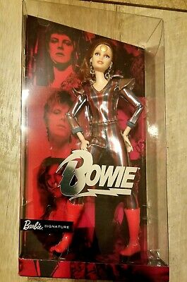 Barbie David Bowie Doll Ziggy Stardust Mattel NRFB Gold Label In Hand 2019