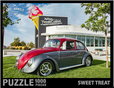 Eurographics Jigsaw Puzzle 1000 PIECE VW Beetle We/'ve done things EG60000800