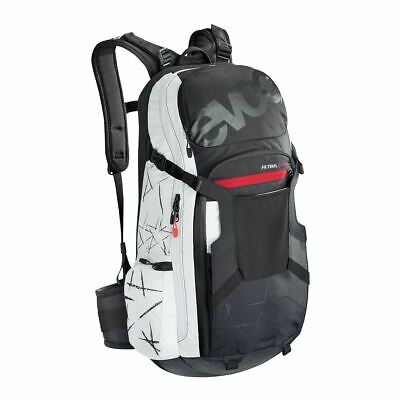 Evoc Fr Trail Protector Back Pack | Unlimited Black/Whit | Xl