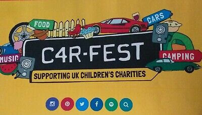Carfest North Tickets 2x Adult & 2x 6-16 with Big Early Camping.