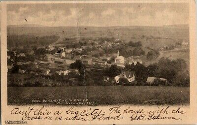 1906. Birds Eye View Of Otisville, Ny Postcard Db21