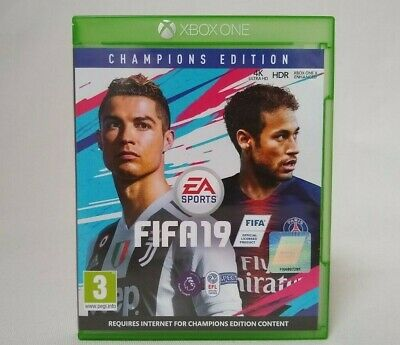 FIFA 19 Xbox One Game Champions Edition Cover - Mint Condition - Fast Free P&P