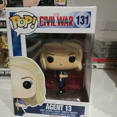 Captain America 3 - Agent 13 - Funko Pop! Marvel (2016, Toy NUEVO)
