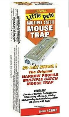 Jt Eaton™ Little Pete™ Multiple Catch Mouse Trap With Window